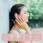 Yoobao YBL-110 Oreillette Bluetooth 4.1 Écouteurs d'exercice Sans fil Casque Haut-parleurs Sport Stéréo avec Micro et CVC 6.0 Annulation Sonore, IPX4 Sweatproof Neckband Bluetooth Headset pour iPhone, iPad, Samsung Galaxy, HTC et Plus-Rose Gold de la marq image 1 produit